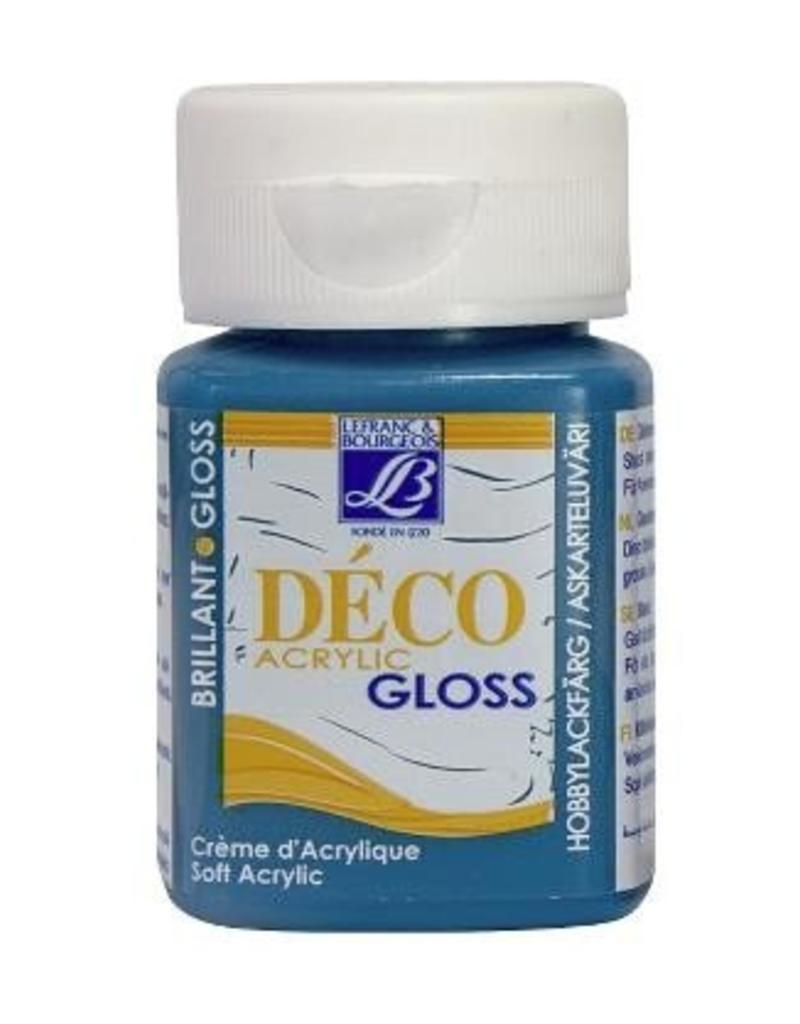 Le Franc & Bourgeois Deco gloss acrylverf turquoise