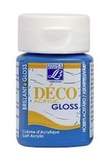 Le Franc & Bourgeois Deco gloss acrylverf cyanblue