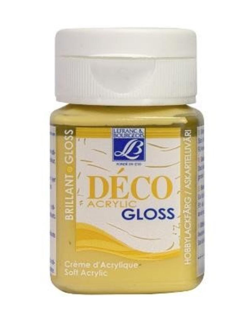 Le Franc & Bourgeois Deco gloss acrylverf maisgeel