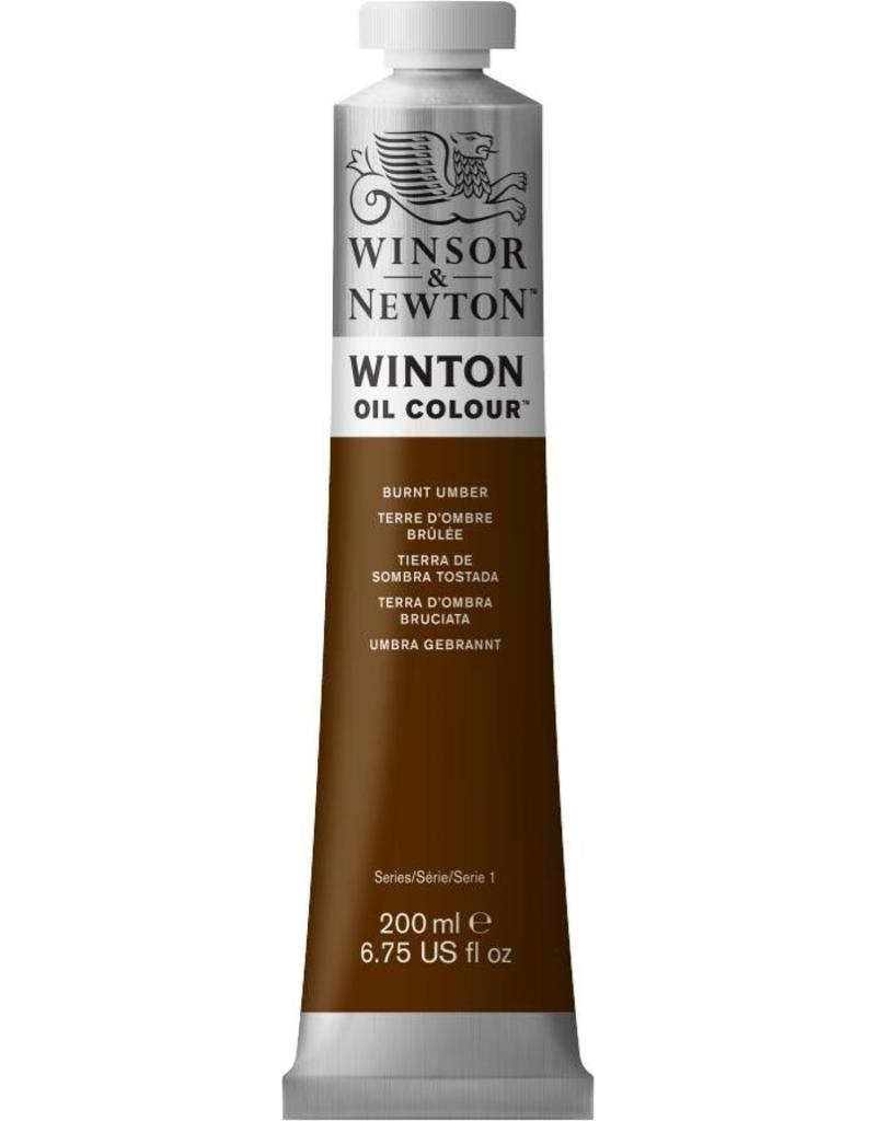 Winsor en Newton WINTON TUBE BURNT UMBER