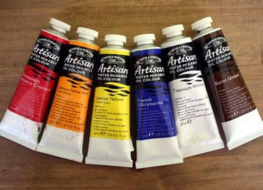 Artisan watervermengbare olieverf