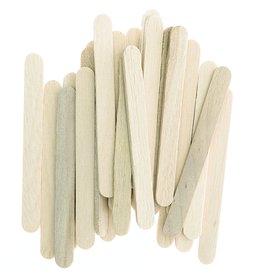 Rico IJslolliestokjes mini - hout naturel