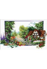 Needleart World Borduurpakket English Cottage Stream
