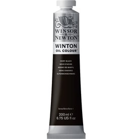 Winsor en Newton WINTON TUBE IVORY BLACK