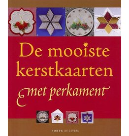 Forte Boek De mooiste kerstkaarten met perkament