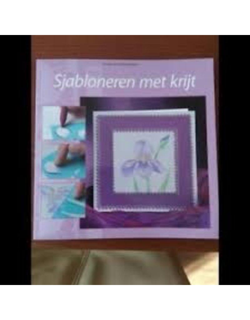 Pergamano Boek Sjabloneren met krijt - Pergamano