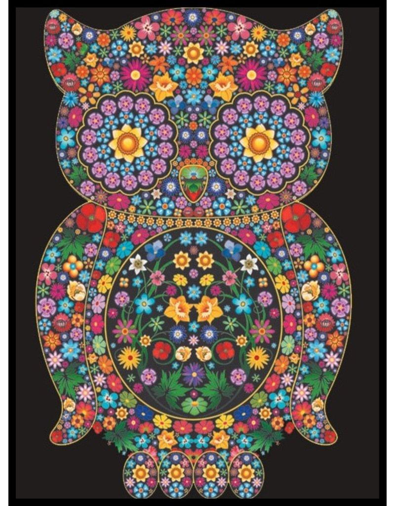 Painting Velvet Colorvelvet kleurplaat Uil
