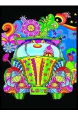 Painting Velvet Colorvelvet kleurplaat Kever