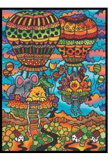 Painting Velvet Colorvelvet kleurplaat Heteluchtballonnen