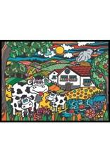 Painting Velvet Colorvelvet kleurplaat Koeien