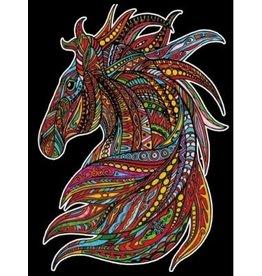 Painting Velvet Colorvelvet kleurplaat Paard