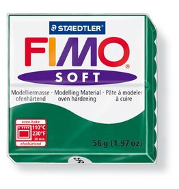 Staedtler Fimo klei soft 56 smaragdgroen