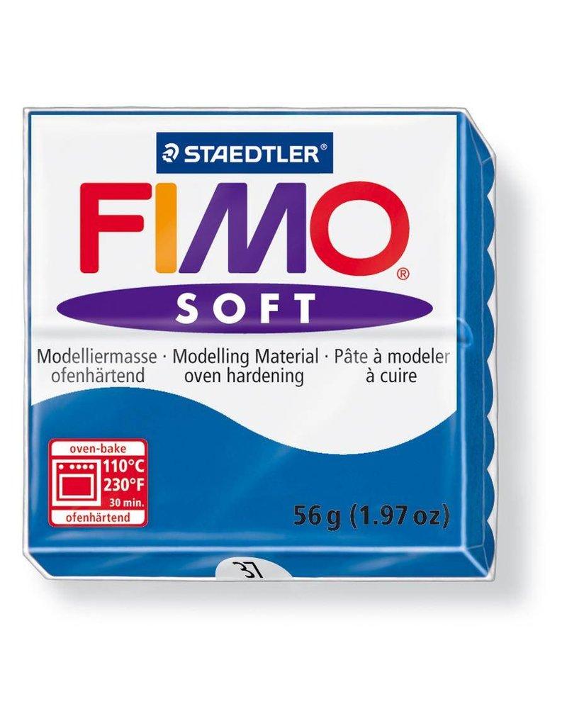 Staedtler Fimo klei soft 37 Oceaanblauw