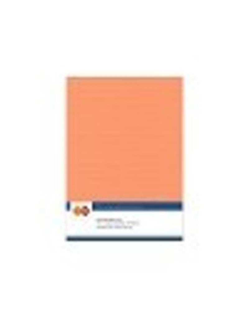 Linnen karton A5 zacht oranje
