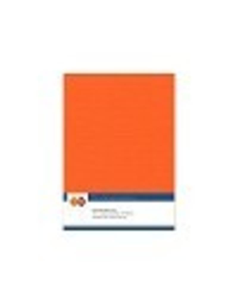 Linnen karton A5 oranje