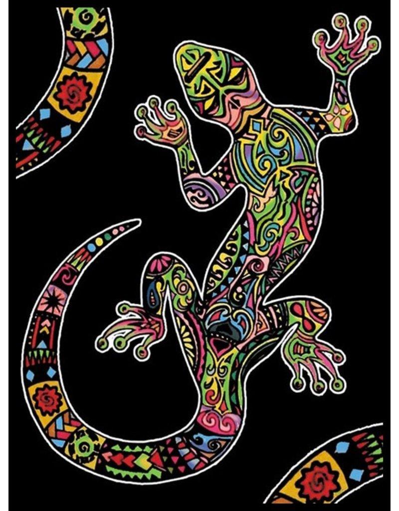 Painting Velvet Colorvelvet kleurplaat  Salamander