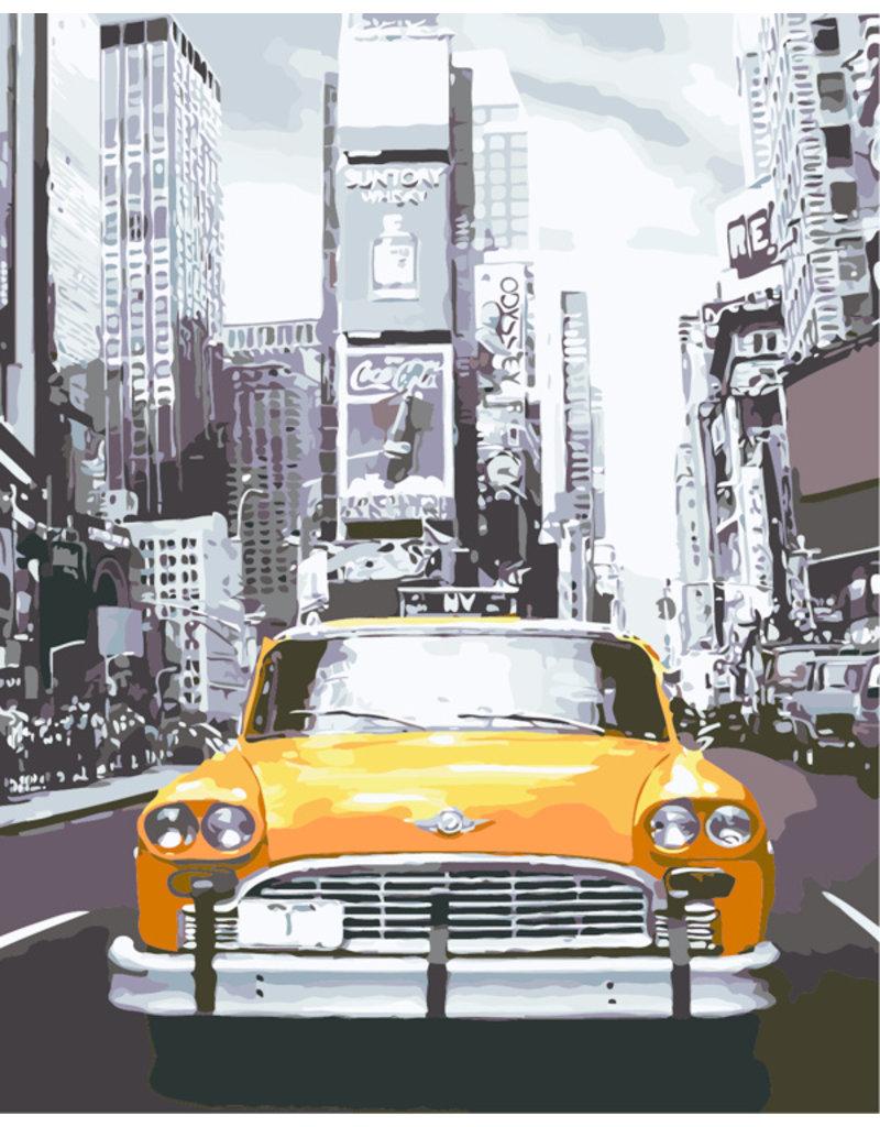 Schilderen op nummer New York