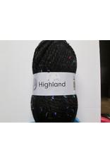 Grundl Highland tweed zwart