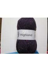 Grundl Highland tweed paars