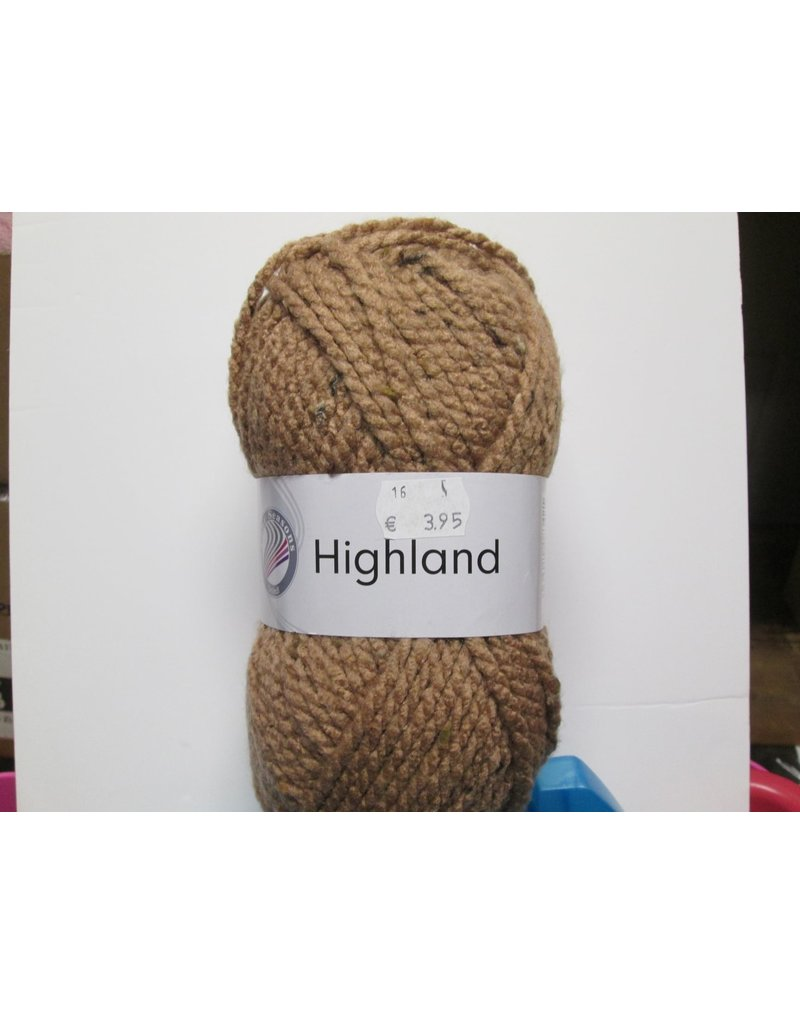 Grundl Highland tweed licht bruin
