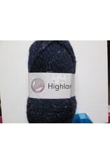 Grundl Highland tweed donkerblauw