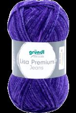 Grundl Lisa premium jeans gemêleerd violet