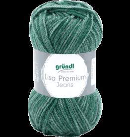Grundl Lisa premium jeans gemêleerd groen