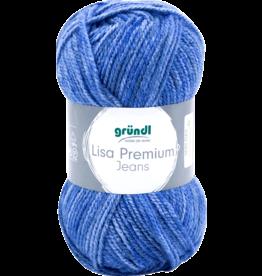 Grundl Lisa premium jeans gemêleerd jeansblauw