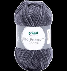 Grundl Lisa premium jeans gemêleerd leisteengrijs
