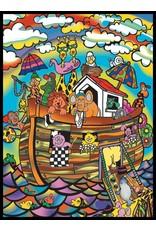 Painting Velvet Colorvelvet kleurplaat Ark van Noach