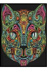 Painting Velvet Colorvelvet kleurplaat  Kat