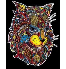 Painting Velvet Colorvelvet kleurplaat  Lynx