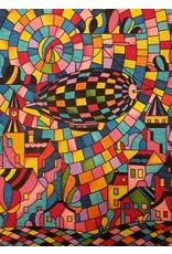 Painting Velvet Colorvelvet kleurplaat  Zeppelin