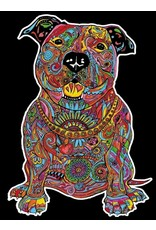 Painting Velvet Colorvelvet kleurplaat  Pitbull