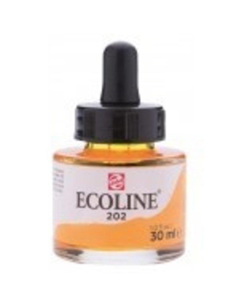Talens Ecoline 30 ml - donkergeel