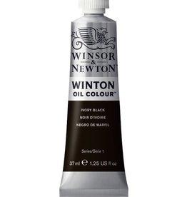 Winsor en Newton WINTON TUBE  IVORY BLACK