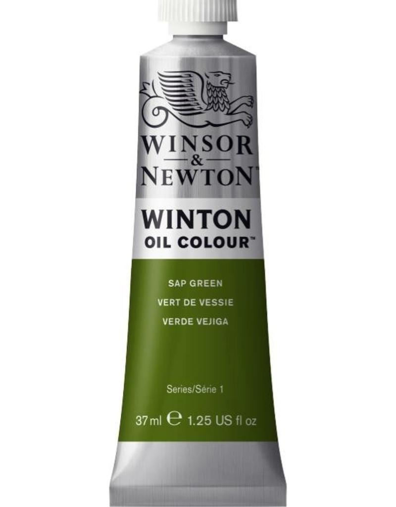 Winsor en Newton WINTON TUBE  SAP GREEN