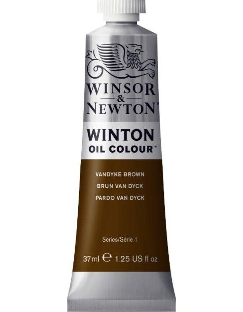 Winsor en Newton WINTON TUBE  VANDYKE BROWN