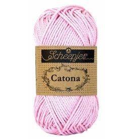 Scheepjes Catona katoen Icy pink