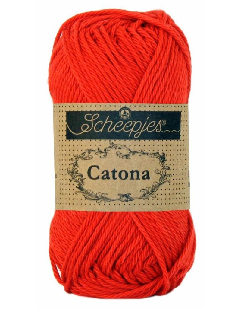Scheepjes Catona katoen Hot red