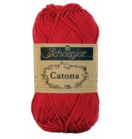 Scheepjes Catona katoen Scarlet