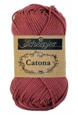 Scheepjes Catona katoen Rose wine