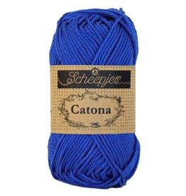 Scheepjes Catona katoen Electric blue