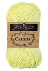 Scheepjes Catona katoen Lemon chiffon