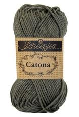 Scheepjes Catona katoen Dark olive