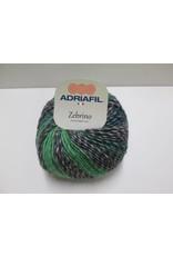Adriafil Zebrino garen blauw/grijs/groen
