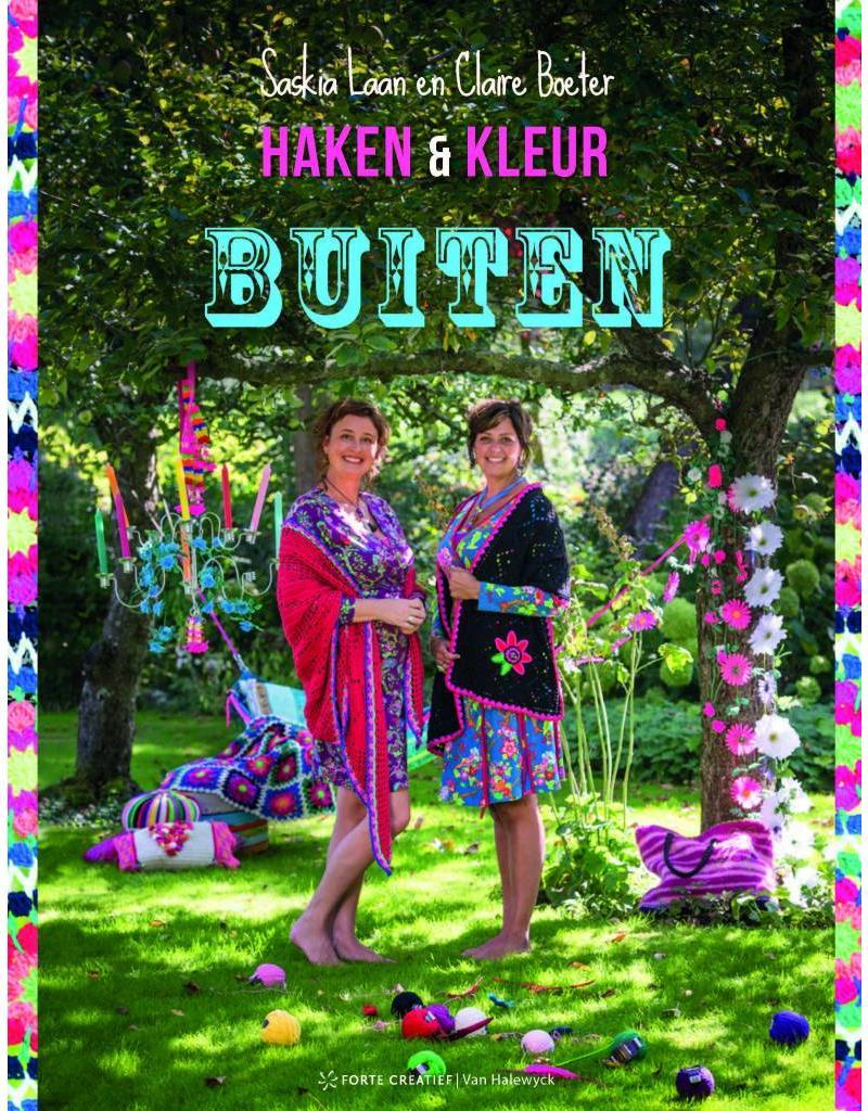 Forte Boek Haken & kleur buiten