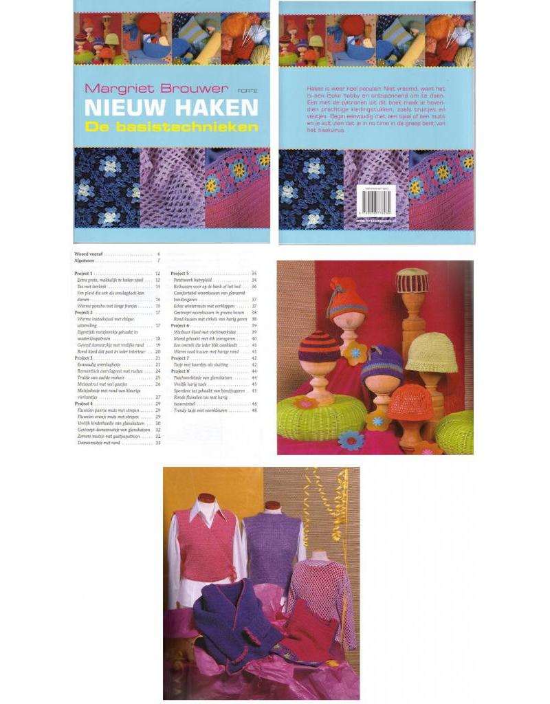 Forte Boek Nieuw haken de basistechnieken