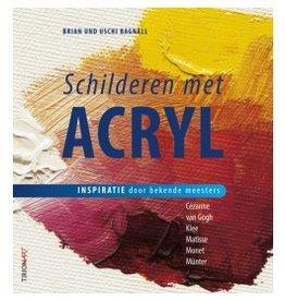 Tirion Boek Schilderen met acryl