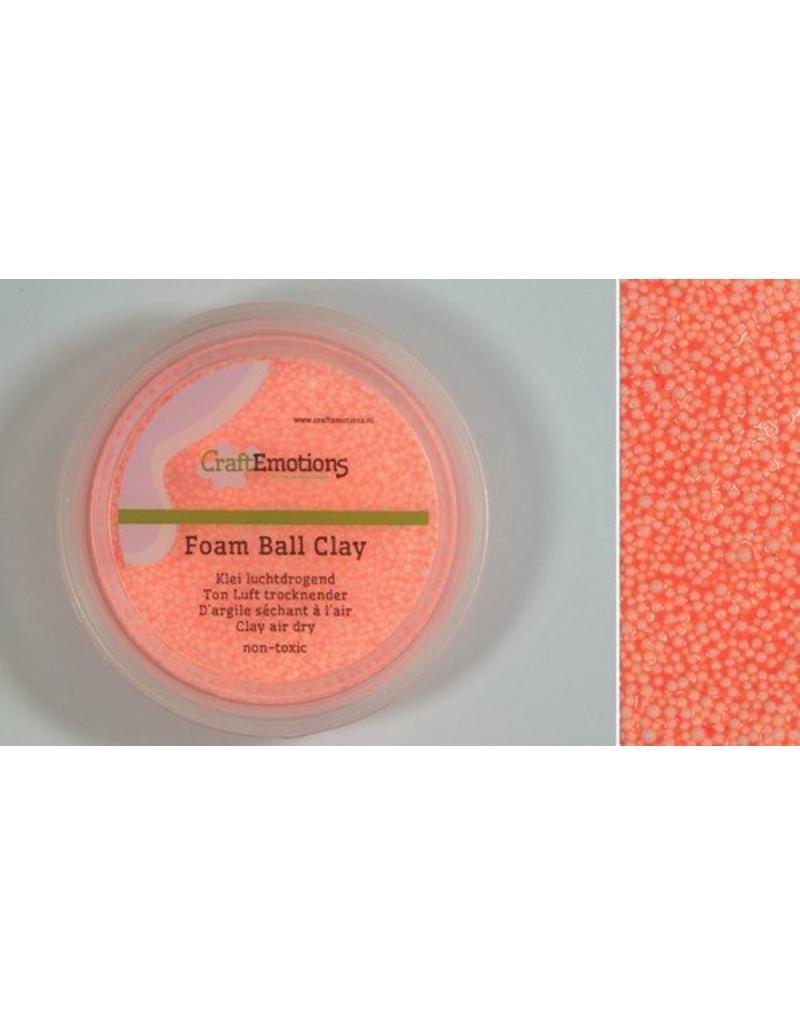 Foam ball clay oranje